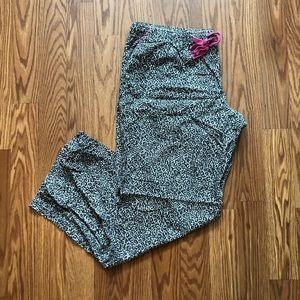 Ambrielle Leopard Print Pajama Pants